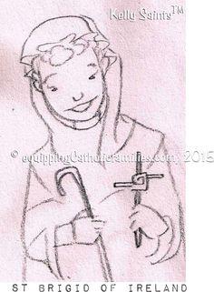 Feast Day Fun: St Brigid including the St. Brigid Cross craft, an awesome speech about St. Brigid and recipe links for a fabulous St Brigid Day Feast! Brigid's Cross, St Brigid, Saints Days, Cross Crafts, Book Of Shadows, Celtic, Catholic, Recipe Links, Aurora Sleeping Beauty