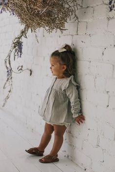 Baby Girl Fashion, Toddler Fashion, Toddler Outfits, Kids Fashion, Little Kid Fashion, Cute Baby Girl, Cute Babies, Baby Kids, Cute Little Girls