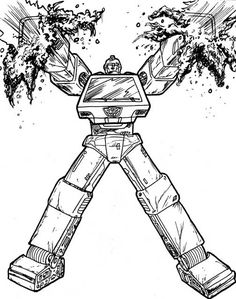 Transformers Coloring Pages | For the Kid | Pinterest | Coloring ...