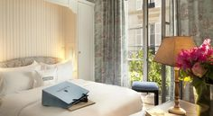 Hôtel Saint Germain Paris This charming hotel set in the heart of Saint-Germain-des-Prés welcomes you in an elegant setting and offers the ideal backdrop for your stay in Paris.  The Saint Germain hotel has comfortable double or twin rooms, fitted with bath or shower.