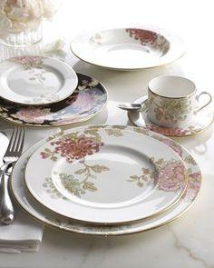 Painted Camellia Dinnerware