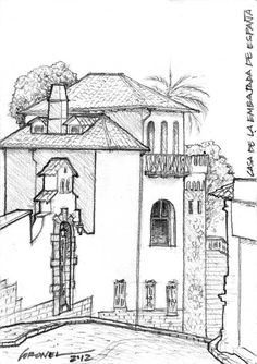 Urban Sketchers UIO: Jorge Coronel