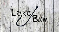 Lake Bum Fishhook Decal – The Lake Bum Company