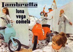 Red Devil Motors: Lambretta Luga, Vega & Cometa brochure 1968
