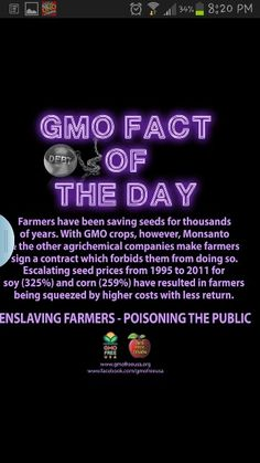 In the states.... but a similar bill is going through the Canadian parliament right now! Granted, if you avoid gmo seeds and buying from Monsanto altogether, you should be able to avoid this problem.