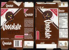 Nabisco Chocolate Snaps   Nabisco - Chocolate Snaps cookie box - 1994-1995   Flickr - Photo ...