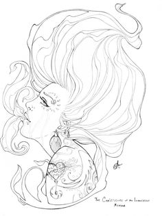 Original Pencil Drawing The Coalescence of an Evanescent by sAm26, $85.00