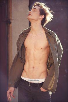 Greg Nawrat / Male Models, Men's Fashion & Style Smoking Guy