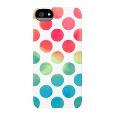 iPhone 5/5S Snap Case White Dots, $27.96, now featured on Fab.