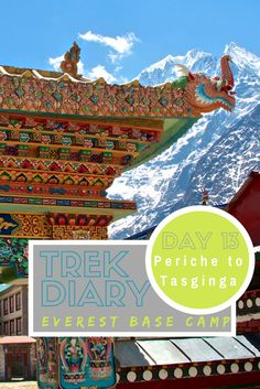 Destinations // Everest Base Camp Trek Day 13: Periche to Tashinga. The Everest Base Camp Trek combined with the Three Pass Trek is an adventure of a lifetime.