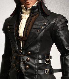 ITEM VIEW : EID - Man - EID_Man Black Armor coat
