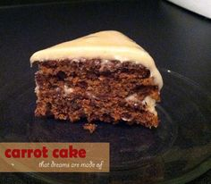 vegan carrot cake + vegan icing recipe nomnomnom