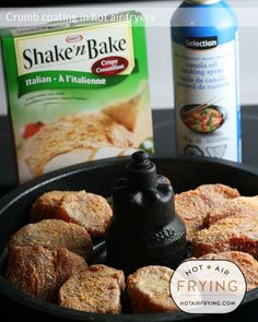 Crumb coating in hot air fryers Air Fyer Recipes, Air Fryer Recipes Pork, Power Air Fryer Recipes, Nuwave Oven Recipes, Actifry Recipes, Cooking Recipes, Cooking Stuff, Amish Recipes, Air Fryer Cooker