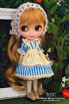 THIS IS BLYTHE - Garden Blue Lolita dress set