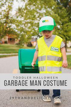 Toddler Halloween Garbage Man Costume – and Delight Toddler Boy Halloween Costumes, Ghost Costumes, Homemade Halloween Costumes, Baby Costumes, Halloween Costumes For Kids, Halloween 2017, Ghost Costume Kids, Children Costumes, Baby Girl Halloween
