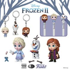 Coming Soon: Pop! Frozen Cupcake Toppers, Frozen Cupcakes, Pen Toppers, Frozen Merchandise, Funko Pop Dolls, Funk Pop, Disney Charms, Disney Princess Frozen, Mystery Minis