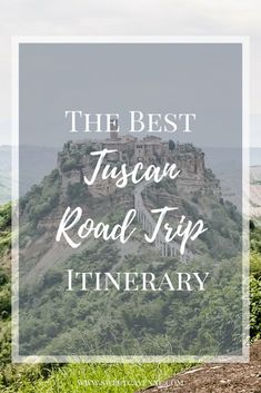 This road trip planning guide for Italy gives you THE BEST Tuscany driving itinerary for either a 5 or 10 day road trip. #tuscany #italy #italyroadtrip #tuscanyroadtrip #drivinginitaly #italyvacation | www.sweetcayenne.com Italy Vacation, Italy Travel, Vacation Spots, Italy Trip, Driving In Italy, The Perfect Getaway, Thing 1, Plan Your Trip, Trip Planning