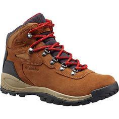 Columbia Sportswear Women's Newton Ridge Plus Waterproof Amped Hiking Boots (Elk/Mountain Red, Size - Women's Outdoor at Academy Sports Best Hiking Boots, Hiking Boots Women, Hiking Shoes, Hiking Boots Outfit, Hiking Outfits, Hiking Gear Women, Hiking Wear, Columbia Boots, Leather