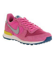Nike Nike Internationalist (w) Pink Violet Grey - Hers trainers