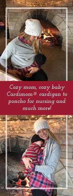 Cardimom®️️, a cardigan and poncho in one, saves space and money! Whether you are a mom or the kind of gal who can't be pinned down (or both?), is it sometimes a challenge to dress for everything you've Maternity Sweater, Casual Maternity, Maternity Fashion, New Parents, New Moms, Pilates, Nursing Tops, Nursing Covers, Pregnancy Fashion Winter