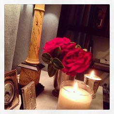 #Flores #Velas #Cenas