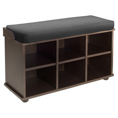 Found it at Wayfair - 6 Cubby Storage Entryway Bench