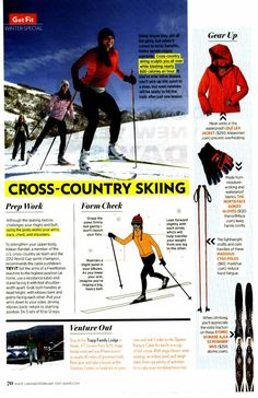 This guide is for a first time recreational skier. The stuff I do and the speed and way we do it in the competitive world of skiing is quite different. Good place to start though!