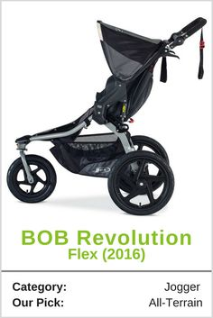 The BOB Revolution Flex is a top pick due to its excellent maneuverability on just about any surface from smooth sidewalks to dirt and gravel trails. If you are someone that spends a lot of time hiking, jogging, or running outdoors this rugged product is a solid choice.