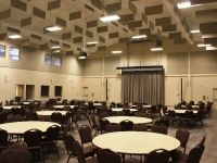 Trans Canada Centre - round tables and comfy chairs Our Wedding, Wedding Venues, Round Tables, Centre, Conference Room, Chairs, Canada, Comfy, Home Decor