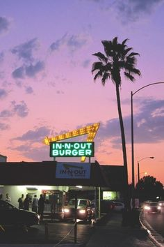 In 'n' out Burger -Statewide.