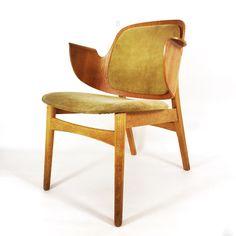 Teak armchair, model 107 by Hans Olsen for Bramin, 1957.