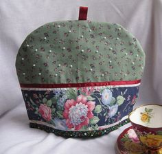Shabby Chic Beaded Floral Dome Tea Cozy by TeaHens on Etsy