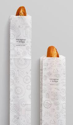 Voyageur Du Temps Branding by Character | Inspiration Grid | Design Inspiration
