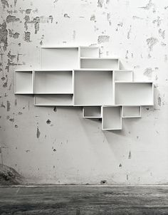 Wall-mounted MDF #bookcase SheLLf by @kristaliadesign   | design Ka-Lai Chan