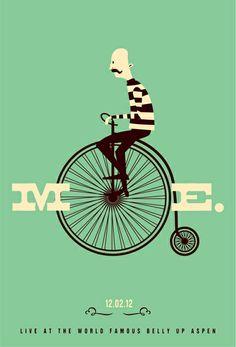Moe. gig poster by Scrojo