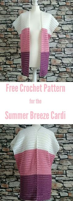 FREE Crochet Pattern for the Summer Breeze Cardi By The Crochet Blog