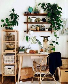 48 cozy workspace bedroom design and decor ideas - DIY and decoration - 48 cozy. - 48 cozy workspace bedroom design and decor ideas – DIY and decoration – 48 cozy workspace bedroom design and decor ideas – Apartment Decorating On A Budget, Diy Home Decor On A Budget, Interior Decorating, Decorating Ideas, Apartment Ideas, Apartment Plants, Interior Design, Apartment Interior, Interior Office