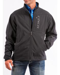 Cinch Men s Concealed Carry Bonded Jacket - MWJ1043014  fashion  clothing   shoes  accessories 4176b1cde56