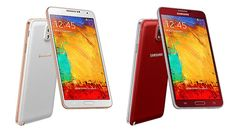 Samsung adds red and 'rose gold' colors to its Galaxy Note 3 lineup