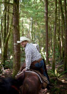 Your inner cowboy at Clayoquot Wilderness Resort. www.wildretreat.com