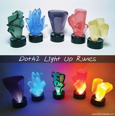 DotA 2 Light Up Runes (this is awesome)