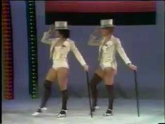 """Gwen Verdon and Chita Rivera on Mike Douglas, dancing """"Nowadays"""" and """"Hot Honey Rag"""" from """"Chicago."""""""