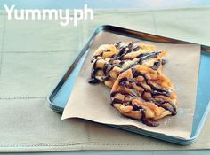 For an interactive dessert party, have a do-it yourself funnel cake station!