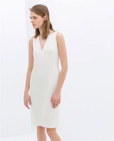 ZARA - WOMAN - SLEEVELESS SHIFT DRESS