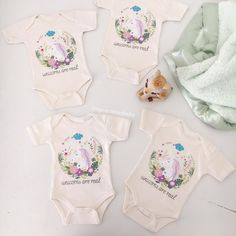 Unicorns Are Real organic cotton onesies!   shop NEW at spearmintLOVE.com