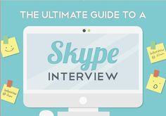 The Ultimate Guide To A Skype Interview (Infographic)