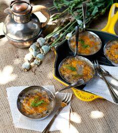 Mushroom Julien - Cocotte at Cooking Melangery