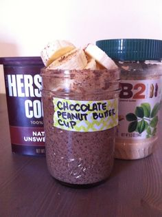 Chocolate Peanut Butter Cup Chia Seed Pudding