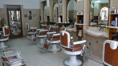 100-Year-Old Barber Shop - Porto, Portugal