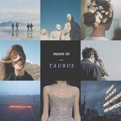 Aesthetics for Taurus // Moon